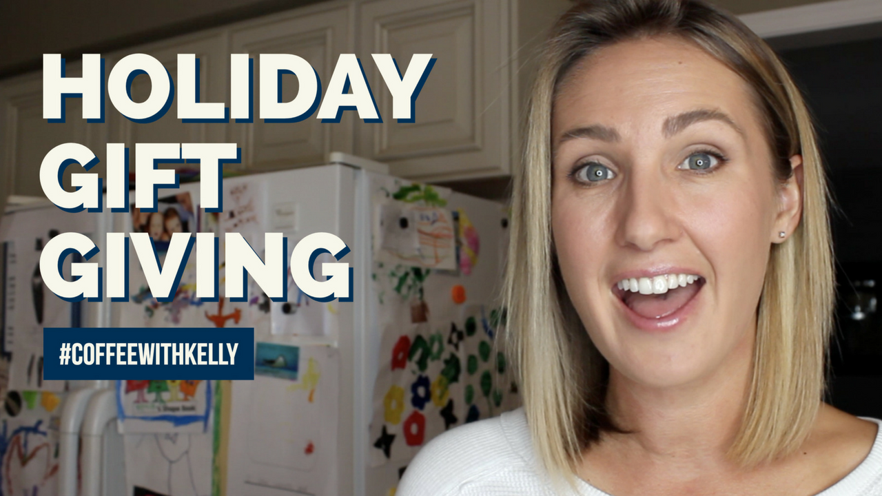 Navigating Holiday Gift Giving Stress | Ungrateful Kids, Managing Expectations & More Coffee With Kelly