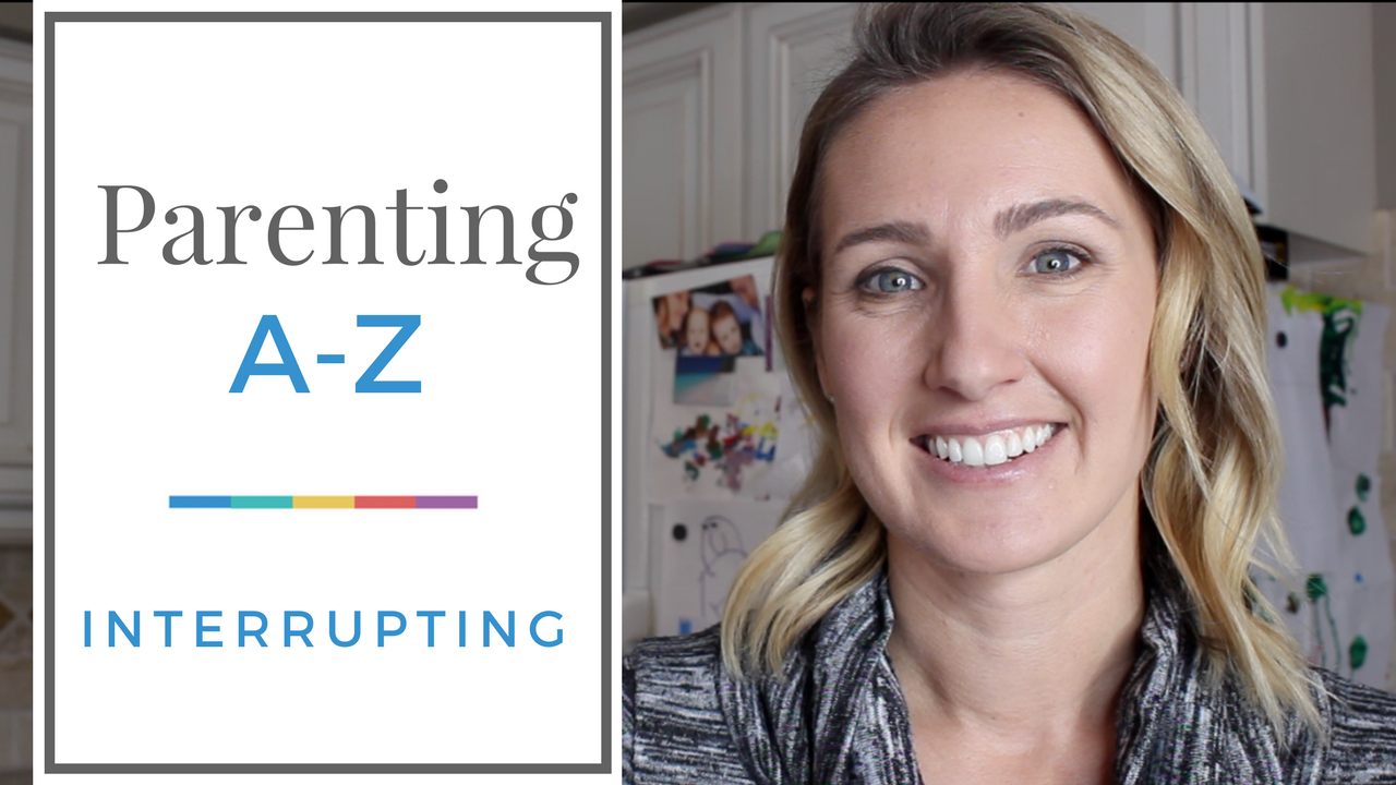 [VIDEO] 5 Easy Ways to Stop Kids from Interrupting | The *real* reasons our kids interrupt, practical tips on how to deal in the moment + how you can set your kids up for success moving forward
