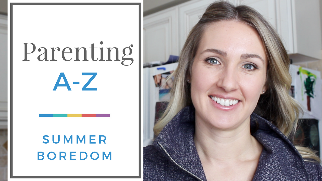 "[VIDEO] How to Deal with Bored Kids this Summer | why I have *zero* plans of being my kids' social convenor, plus some practical tools for what to say and how to deal when faced with the inevitable ""Mo-oooom, I'm bored!"""